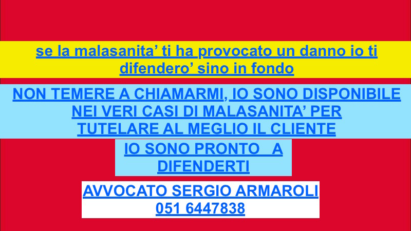 avvocato ESPERTO BOLOGNA RAVENNA FORLI CESENA per danno iatrogeno avvocato per causa responsabilità medica avvocato per malasanità
