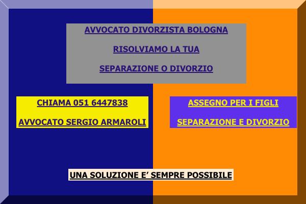 Come separarsi divorziare Castel san Pietro Terme Imola Bologna Assegno di mantenimento , assegno divorzile, avvocato divorzista